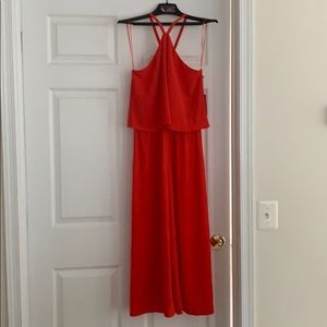 Red Vince Camuto Jumpsuit